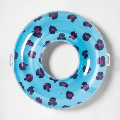 Swim Tube with Handles Leopard - Sun Squad™