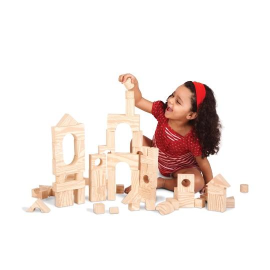 Edushape Wood-like 30 pc Firm Foam Blocks image number null