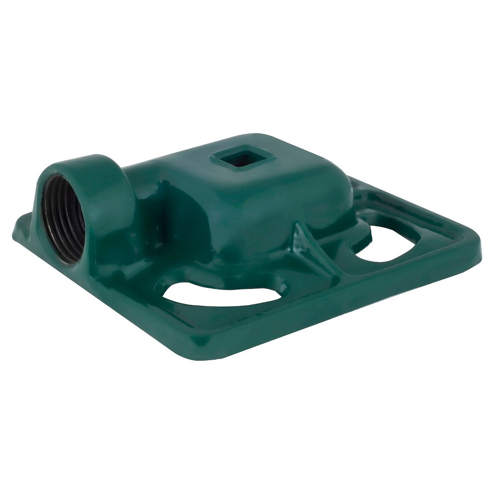 Image of Cast Iron Square Spot Sprinkler - Green - Melnor