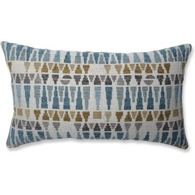 Sky Throw Pillow Blue/Gold - Pillow Perfect