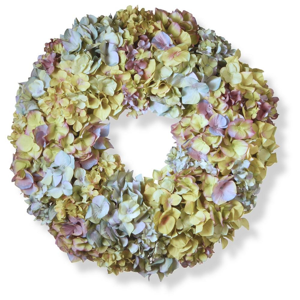 Mixed Hydrangea Wreath 18 5