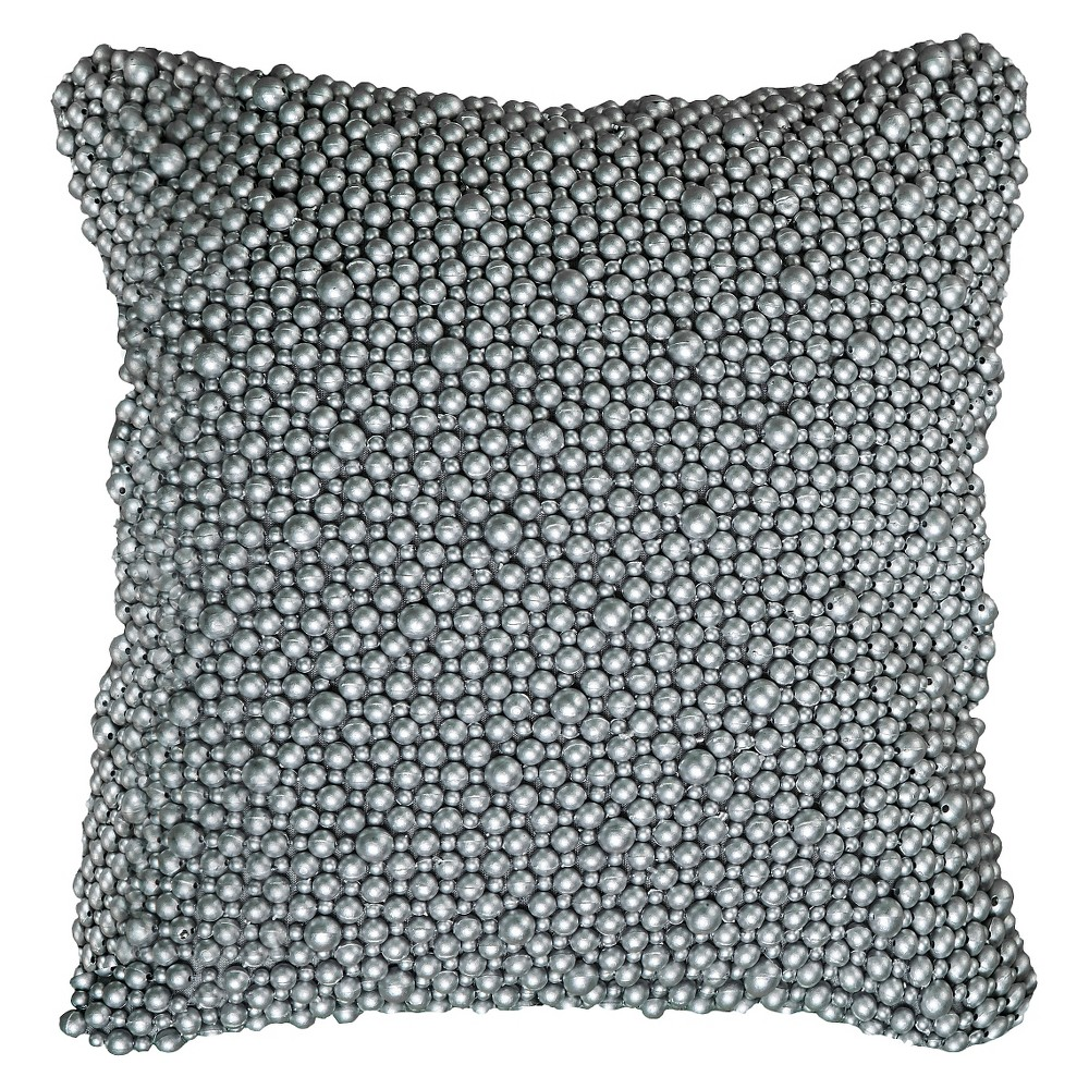 Silver Shimmer Accent Toss Throw Pillow - Rizzy Home