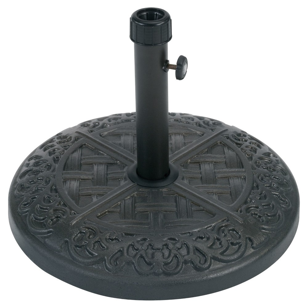 Image of Hammond Umbrella Base - Brown - Hanover