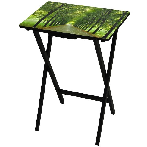 Folding Tables - Oriental Furniture - image 1 of 3