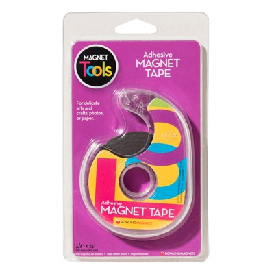 DOWLING MAGNETS Magnet Tape 3/4 X 25 Adhesive Back 735001