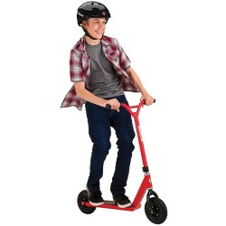 Razor RDS Pro Dirt Off-Road Off-Street All Terrain Oversized Kick Scooter, Red