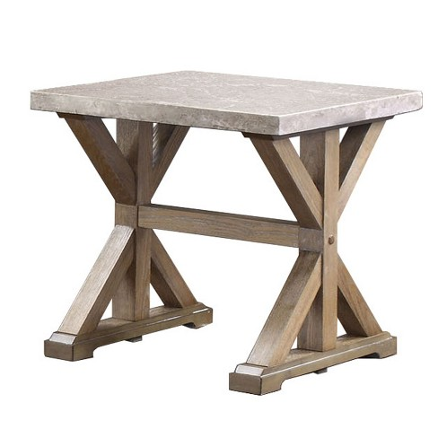 Wellingham End Table Natural - ioHOMES - image 1 of 3
