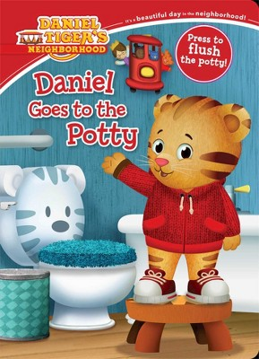 Daniel Goes to the Potty (Board)by Maggie Testa