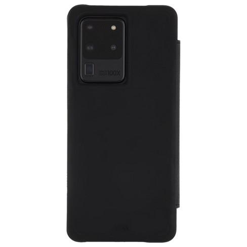 Case-Mate Samsung Galaxy S20 Case Ultra Wallet Folio - Black - image 1 of 4