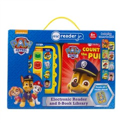 Nickelodeon PAW Patrol Electronic Me Reader Junior 8-book Boxed Set