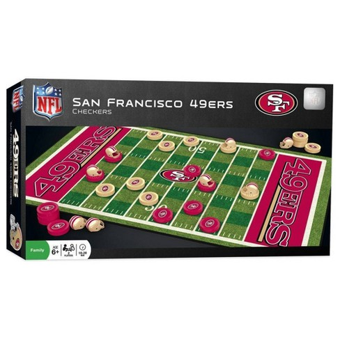 new concept 5f8ab ee376 NFL San Francisco 49ers Checkers Board Game