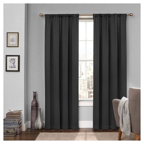 2pc Tricia Room Darkening Window Curtain - Eclipse My Scene - image 1 of 3