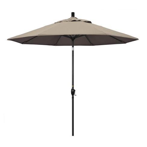 9' Patio Umbrella in Taupe - California Umbrella - image 1 of 2