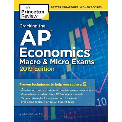 Cracking the AP Economics Macro & Micro Exams, 2019 Edition - (College Test  Preparation) (Paperback)