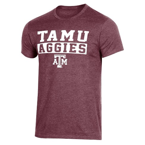 NCAA Texas A&M Aggies Men's Short Sleeve Crew Neck Maroon T-Shirt - image 1 of 2