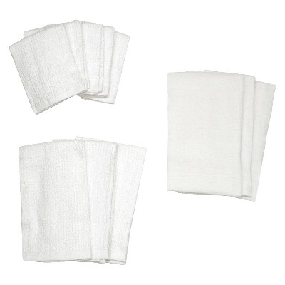 White Kitchen Towel Set