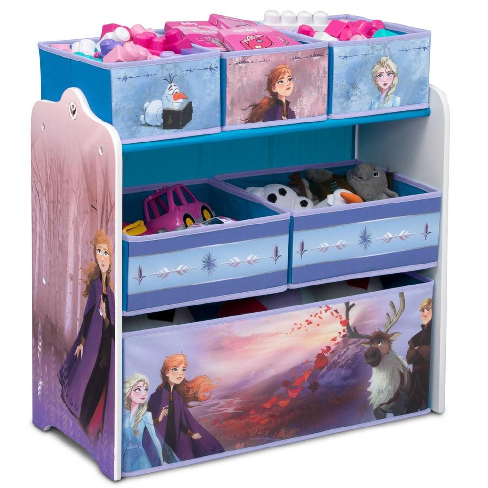 Image of Disney Frozen 2 Multi-Bin Toy Organizer