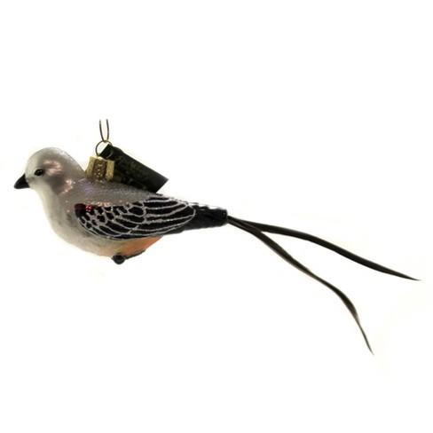 "Old World Christmas 1.75"" Scissor-Tailed Flaycatcher Ornament Bird - image 1 of 3"