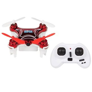 World Tech Toys Nano 2.4GHz 4.5CH Camera RC Spy Drone