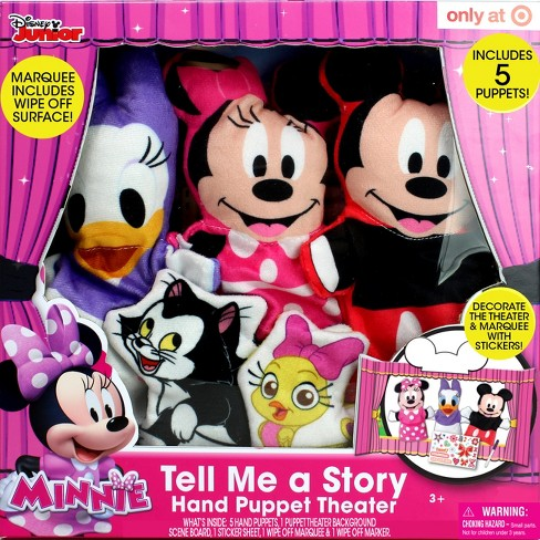 Disney Minnie Tell Me a Story - Hand Puppet Theater - image 1 of 3
