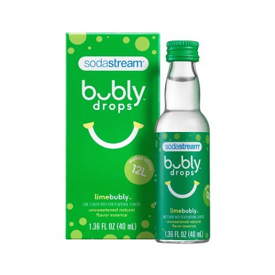 SodaStream Bubly Lime Drops
