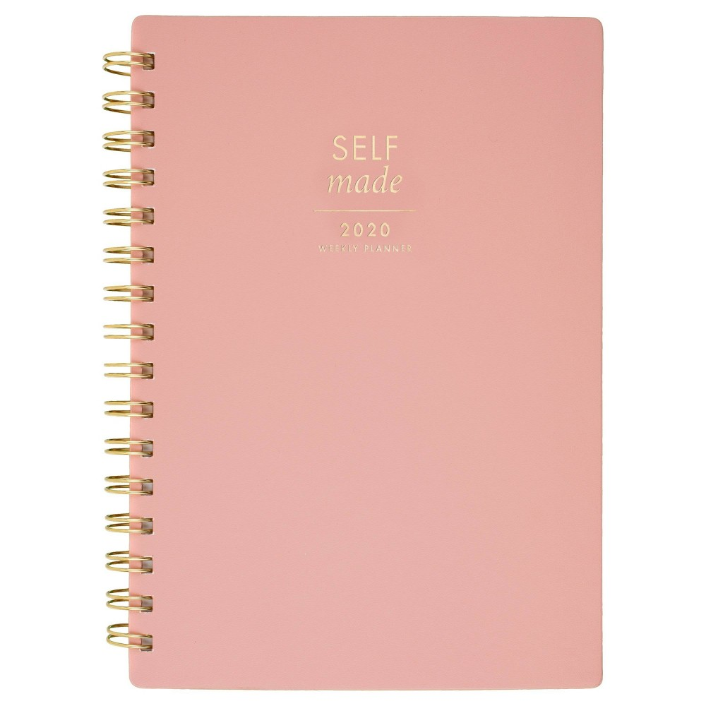 "Image of ""2020 Faux Leather Planner 5.5""""x 8.5"""" Pink - Create & Cultivate"""