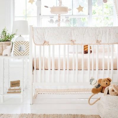 My Baby Sam Heart of Gold Crib Bedding Set - 9pc