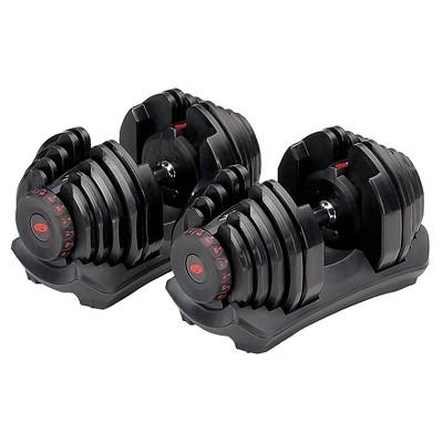 Bowflex 10-90 lbs dumbbells