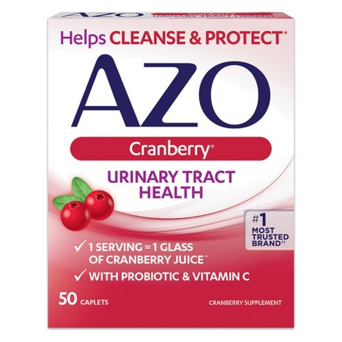 AZO Cranberry Bladder/UTI Treatment Caplets - 50ct - image 1 of 2