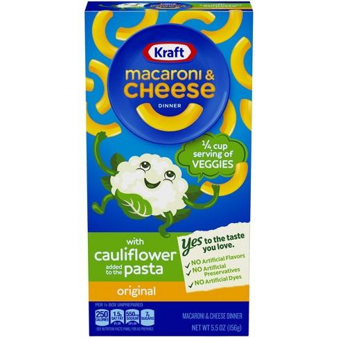 Kraft Original Cauliflower Pasta Mac & Cheese - 5.5oz - image 1 of 3