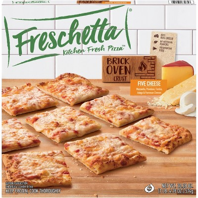 Freschetta Brick Oven 5 Italian Style Cheese Frozen Pizza - 20.28oz