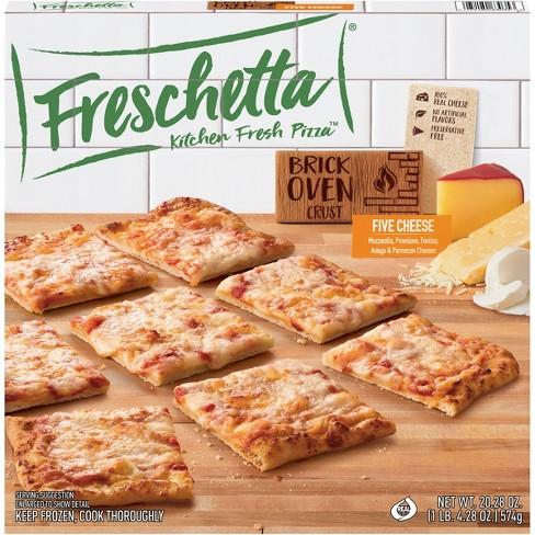 Freschetta Brick Oven Crus Five Cheese Frozen Pizz - 20.28oz - image 1 of 4