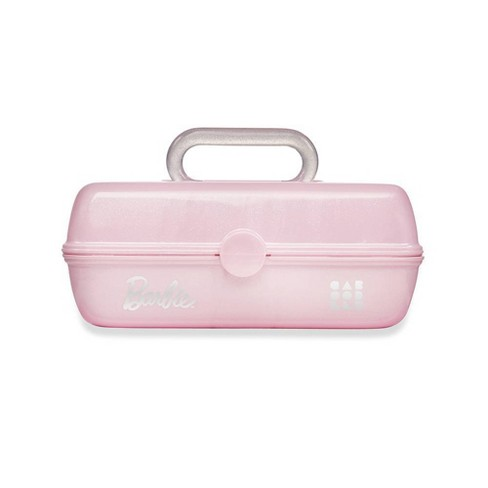 Caboodles Barbie Pretty in Petite Cosmetic Bag - Pink Glitter - image 1 of 3