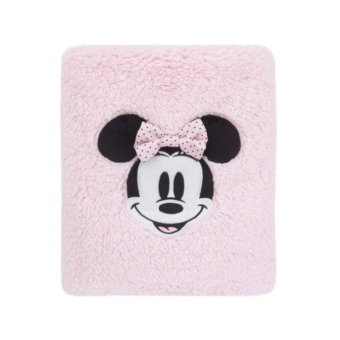 Mickey Mouse & Friends Minnie Mouse Exploration Sherpa Bed Blanket - image 1 of 3