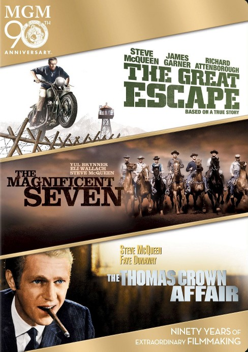 Great escape/Magnificent seven/Thomas (DVD) - image 1 of 1