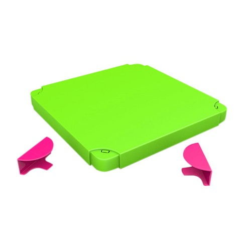 Chillafish Modular Toy Storage Box Top - Pink and Lime - image 1 of 6