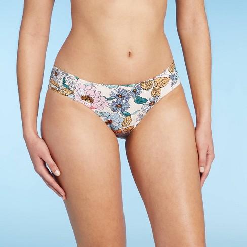Women's Medium Coverage Hipster Bikini Bottom - Kona Sol™ Multi - image 1 of 4