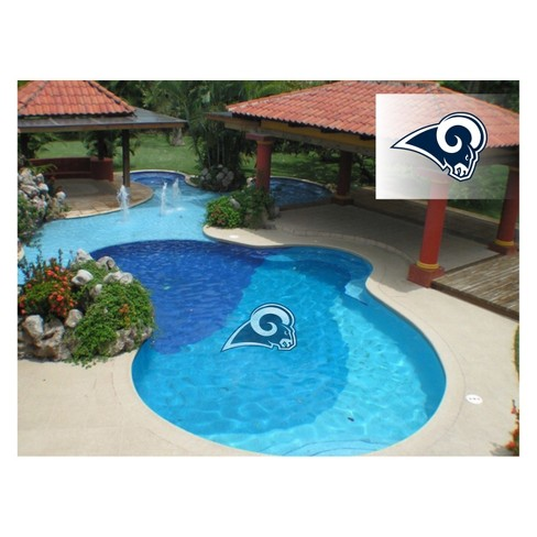 NFL Los Angeles Rams Large Pool Decal - image 1 of 1