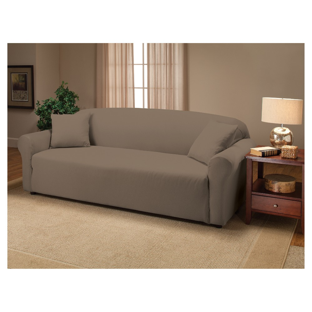 Silver Sofa Slipcover - Madison Industries