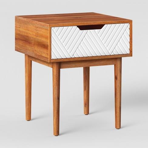 Touraco Accent Table Brownwhite Opalhouse Target