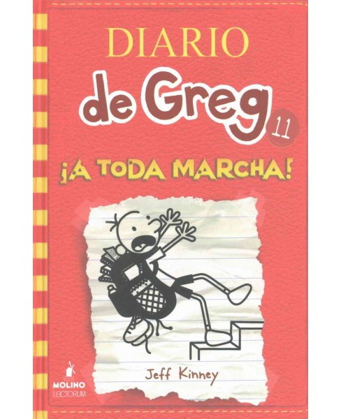 ¡A toda Marcha!/ Double Down (Hardcover) (Jeff Kinney) - image 1 of 1