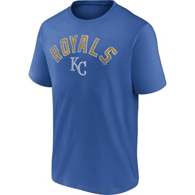 MLB Kansas City Royals Men's Short Sleeve Bi-blend T-Shirt