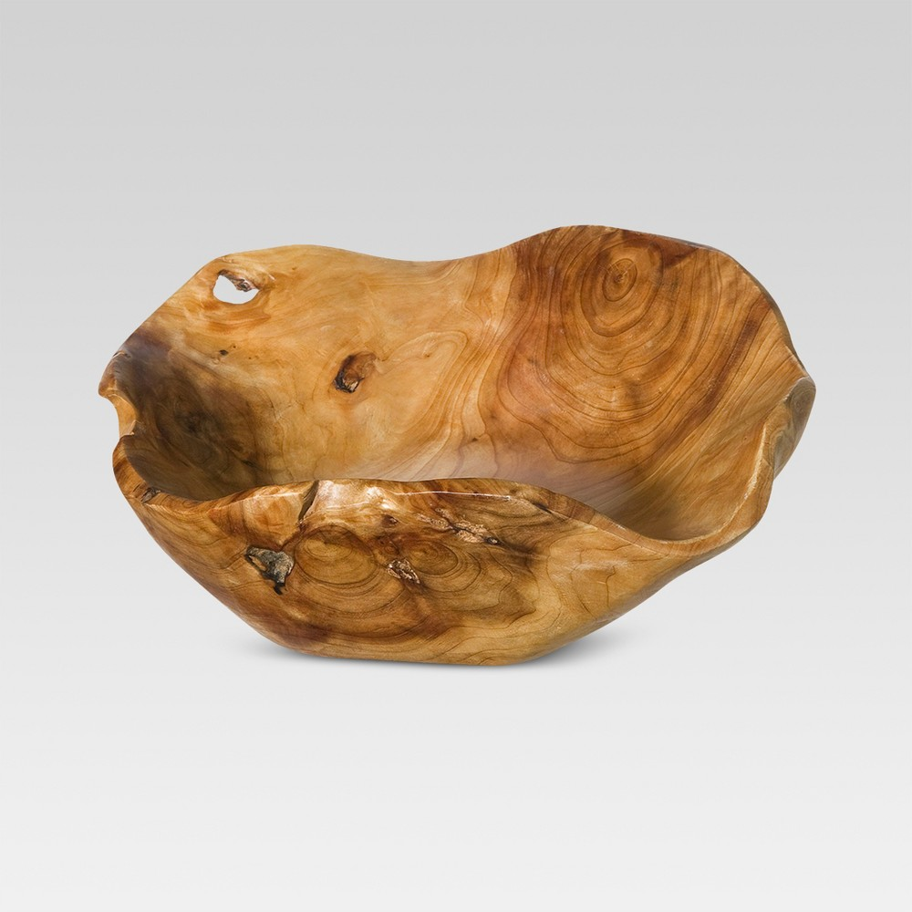 Natural Root Wood Bowl Medium - Threshold
