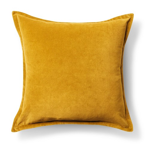 "Velvet Throw Pillow Cover (18""x18"") - Threshold™ - image 1 of 2"