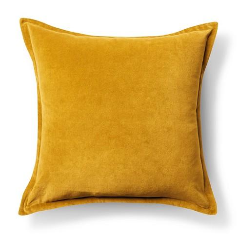 Velvet Throw Pillow Cover (18