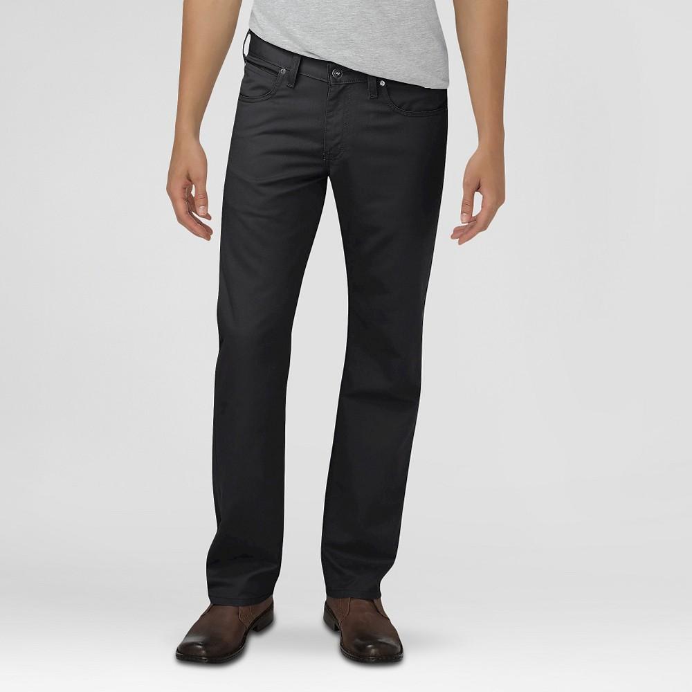 Dickies Men's Regular Fit Straight Leg 5-Pocket Pants Black 34X30