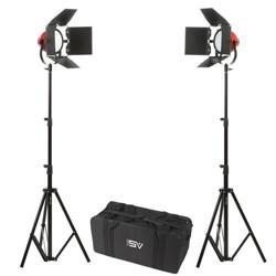 Smith-Victor LadyBug 1000 2-LED Light Kit