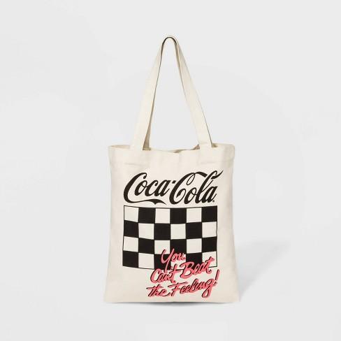 Coca-Cola Canvas Tote Handbag - Beige - image 1 of 2