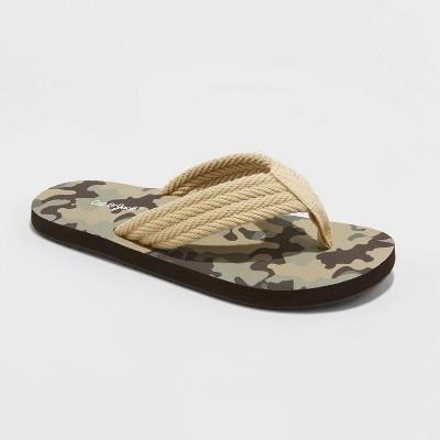 Boys' Hank Slip-On Flip Flop Sandals - Cat & Jack™ Tan