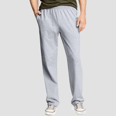Hanes Men's Jersey Pants - Light Steel S
